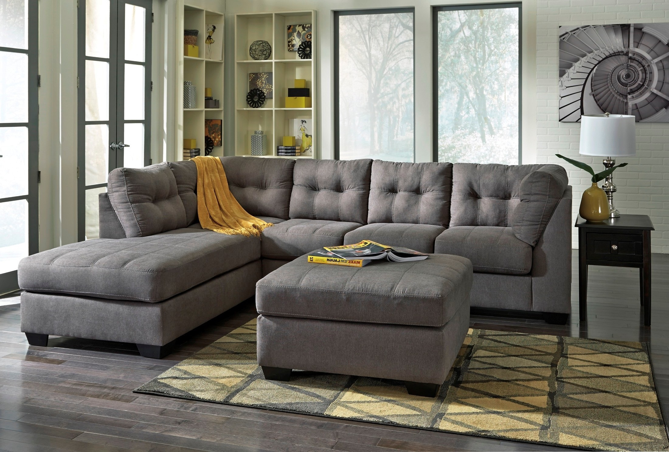 Ashley 45200 Maier Charcoal Sectional
