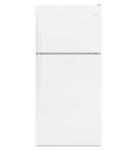 Whirlpool 18 Cubic Foot White Refrigerator Wrt318fzdw