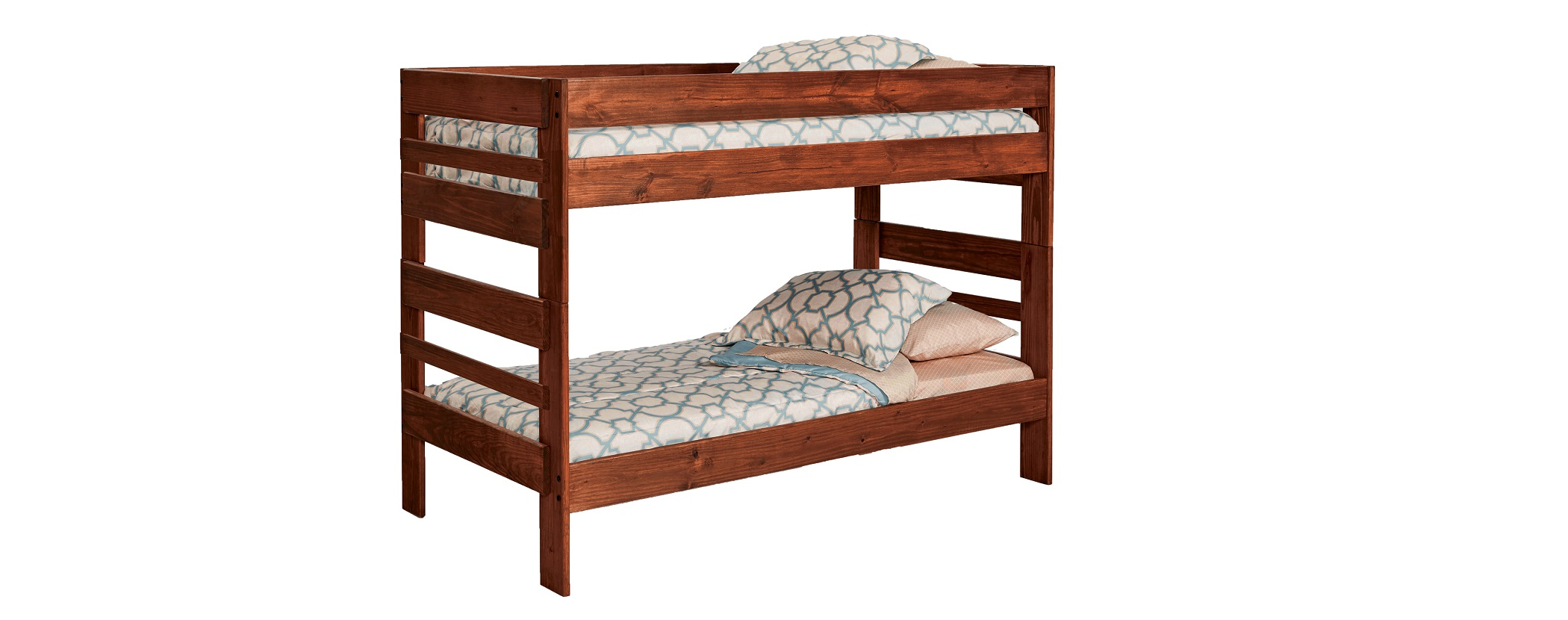 Simply Bunk Beds 208 2pc Twin Twin Stackable Bunkbed