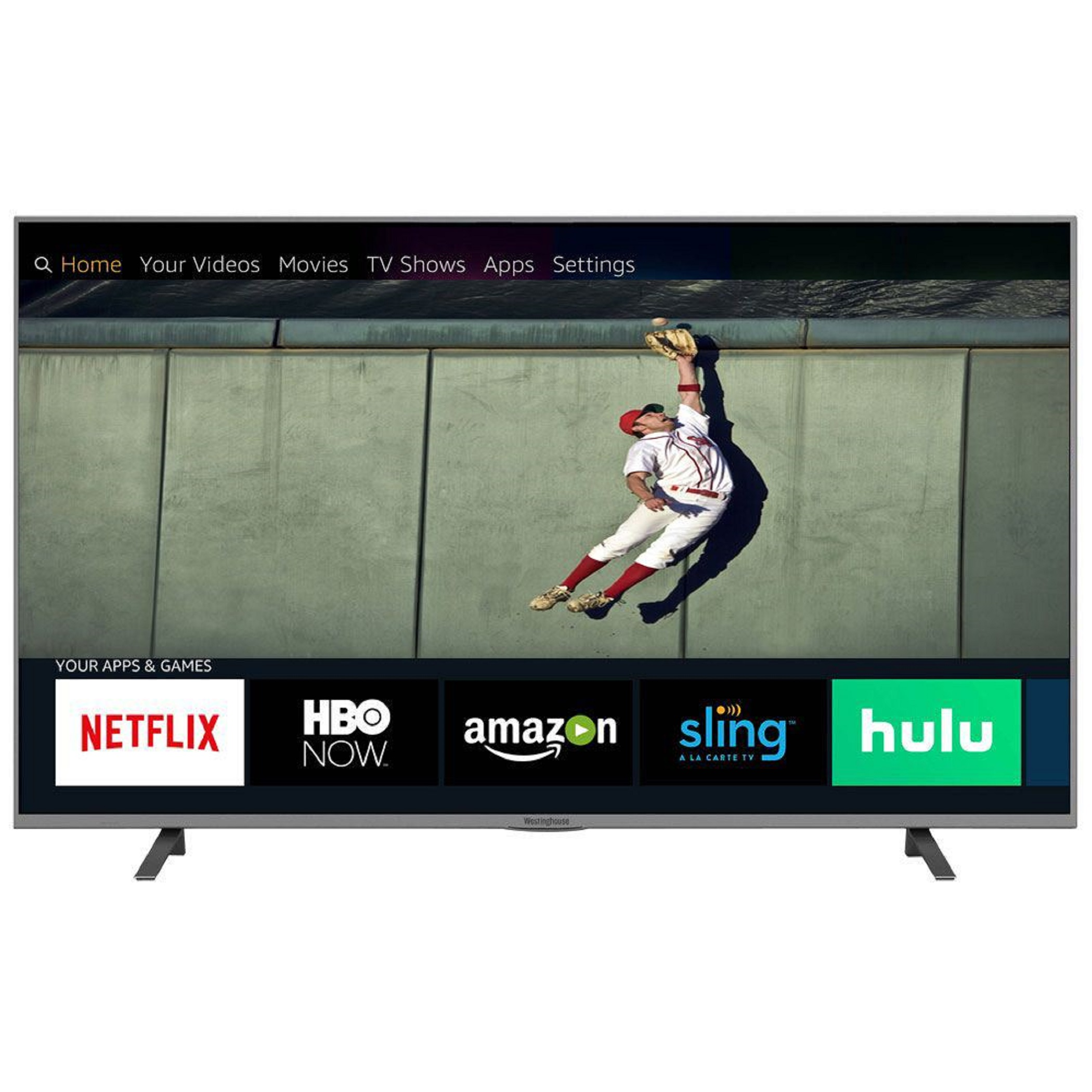 "4K UHD TV with HDR LED Westinghouse 43/"" Class Smart 2160p"