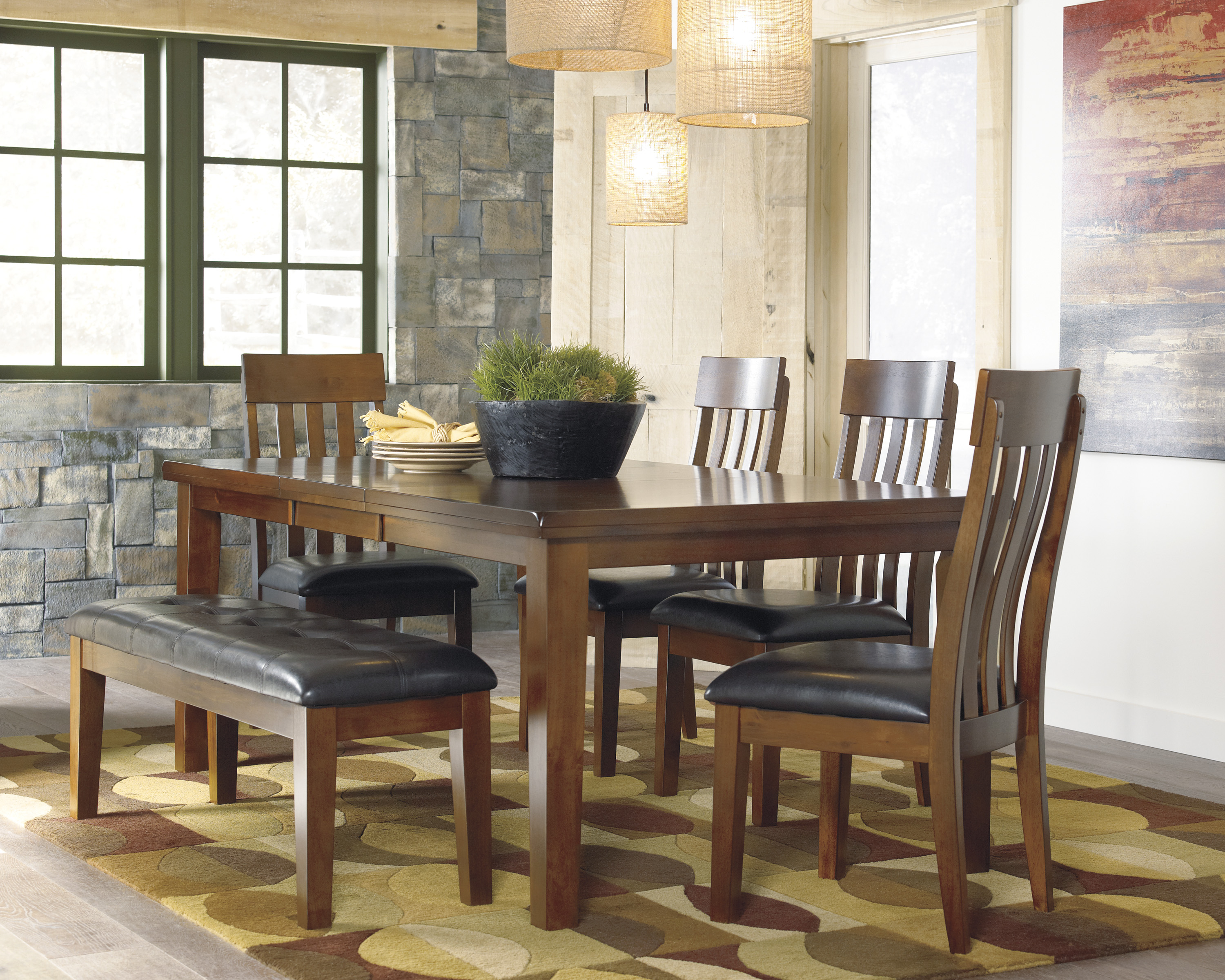 Ashley d594 ralene dining room set - Ashley furniture dining room furniture ...